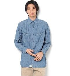 【ビショップ/Bshop】【orslow】ヴィンテージフィットワークシャツMEN[送料無料]