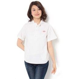 【ビショップ/Bshop】 【DANTON】半袖 プルオーバーワークシャツ YOX WOMEN [送料無料]