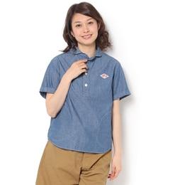 【ビショップ/Bshop】 【DANTON】半袖 プルオーバーワークシャツ COC WOMEN [送料無料]