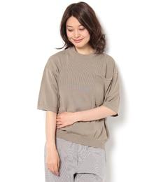 【ビショップ/Bshop】 【crepuscule】半袖 ポケットニット WOMEN [送料無料]