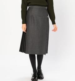 【ビショップ/Bshop】 【O'NEIL of DUBLIN(オニール・オブ・ダブリン)】アコーディオンキルトスカート SOLID WOMEN [送料無料]