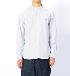 【ビショップ/Bshop】 【DANTON】長袖バンドカラーストライプシャツ MEN [送料無料]