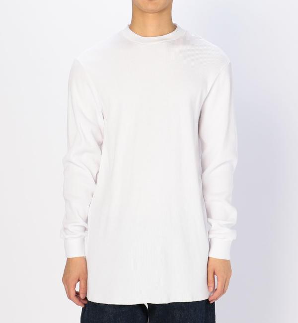 【ビショップ/Bshop】 【AIME LEON DORE】ワッフルTシャツ WHT MEN [送料無料]