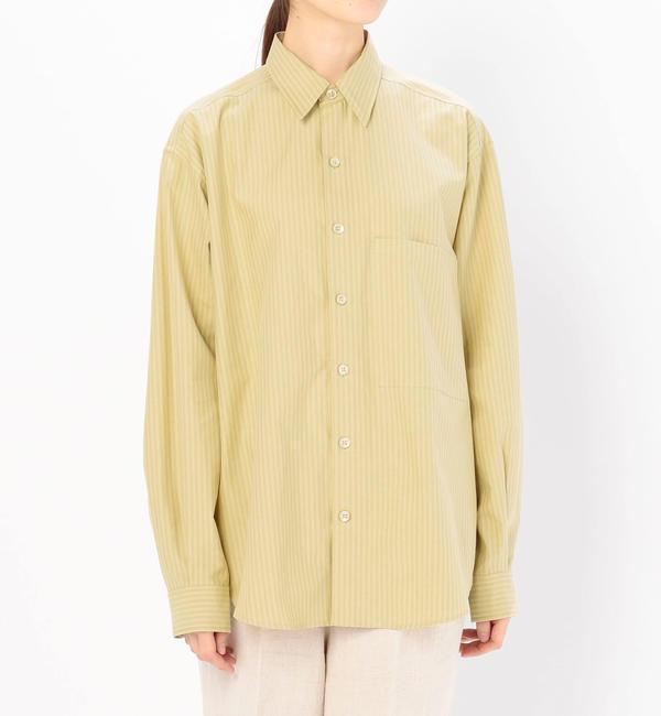 【ビショップ/Bshop】 【AURALEE】ビッグシャツ WOMEN [送料無料]