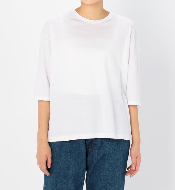 【ビショップ/Bshop】 【AURALEE】ハーフスリーブTシャツ WOMEN