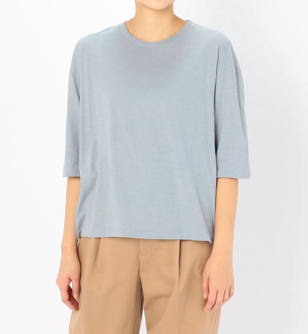 【ビショップ/Bshop】 【AURALEE】ハーフスリーブTシャツ WOMEN [送料無料]