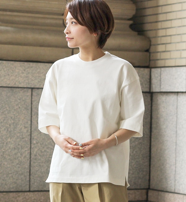 【ビショップ/Bshop】 【AURALEE】STAND-UP Tシャツ / WOMEN [送料無料]