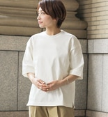 【AURALEE】STAND-UP Tシャツ / WOMEN