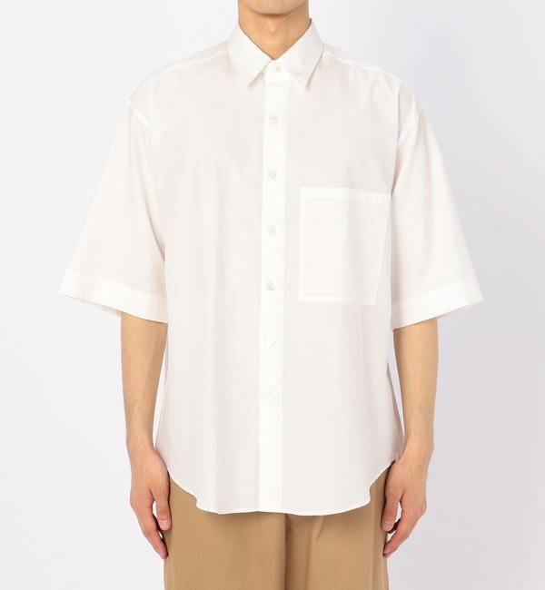 【ビショップ/Bshop】 【AURALEE】ハーフスリーブ ビッグシャツ MEN [送料無料]