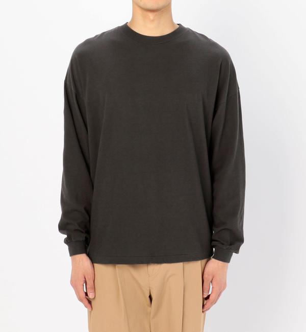 【ビショップ/Bshop】 【AURALEE】コットンカシミヤ 長袖Tシャツ MEN [送料無料]