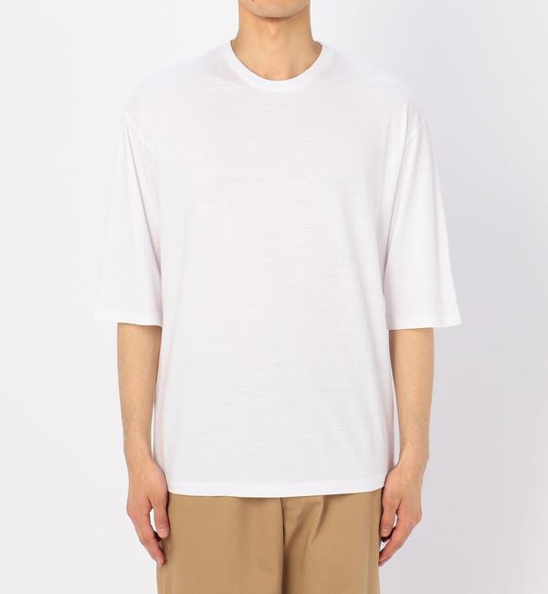 【ビショップ/Bshop】 【AURALEE】ハーフスリーブTシャツ MEN [送料無料]