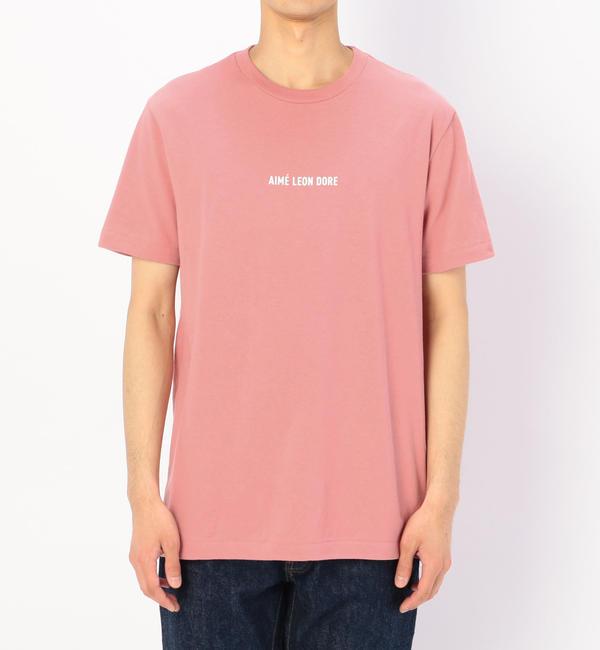 【ビショップ/Bshop】 【AIME LEON DORE】ロゴTシャツ PINK / MEN [送料無料]