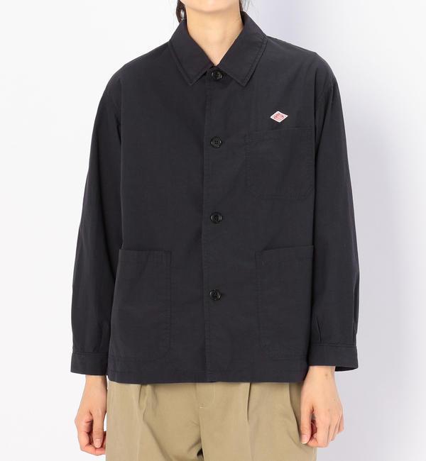 【ビショップ/Bshop】 【DANTON】カバーオール シャツジャケット WOMEN