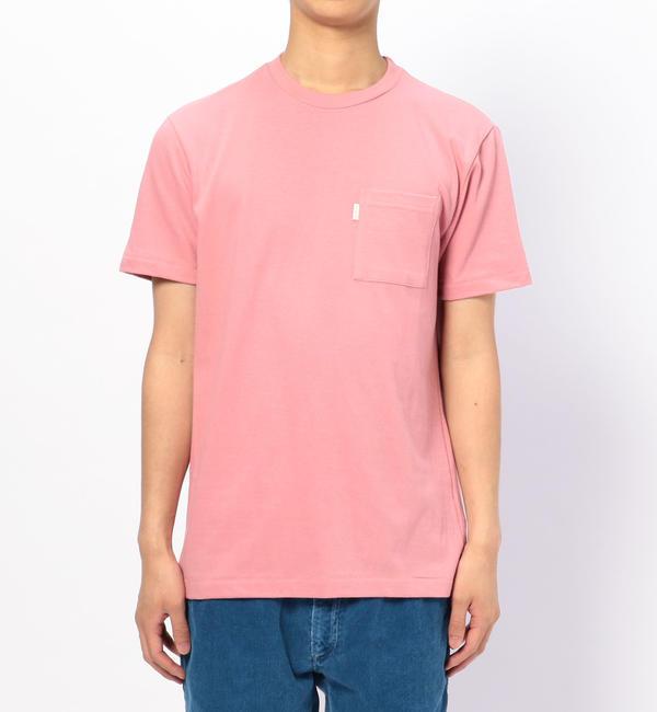【ビショップ/Bshop】 【AIME LEON DORE】ポケットTシャツ PINK MEN [送料無料]