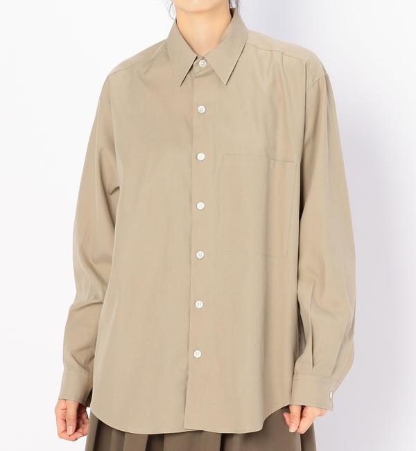 【ビショップ/Bshop】 【AURALEE】ビッグシャツ WOMEN