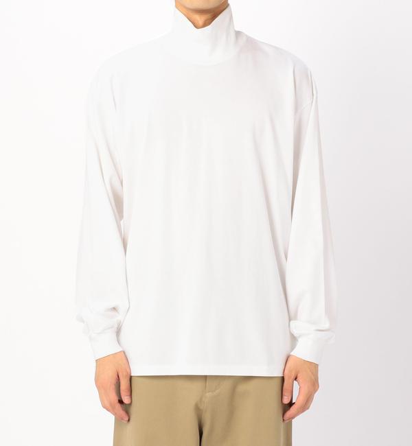 【ビショップ/Bshop】 【AURALEE】ハイネックTシャツ MEN