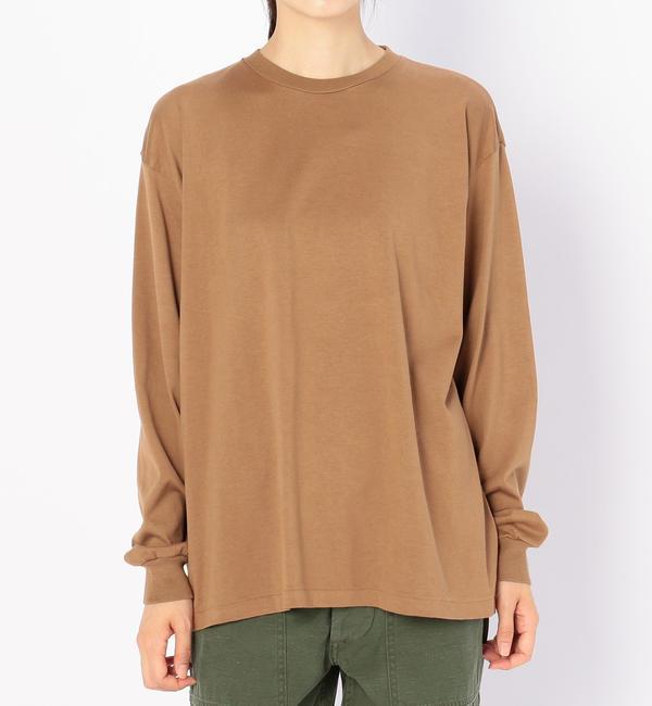 【ビショップ/Bshop】 【AURALEE】〈別注〉クルーネックTシャツ WOMEN