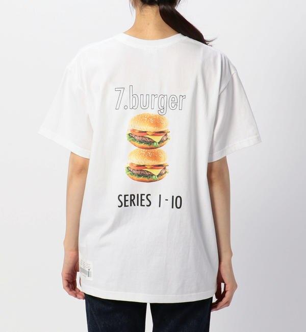 【ビショップ/Bshop】 【CCRT】Tシャツ BURGER WOMEN