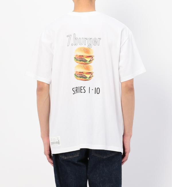 【ビショップ/Bshop】 【CCRT】Tシャツ BURGER MEN