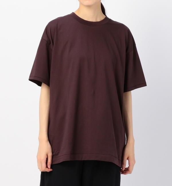 【ビショップ/Bshop】 【ATON】オーバーサイズTシャツ WOMEN