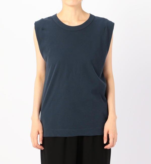 【ビショップ/Bshop】 【ATON】スリーブレスTシャツ WOMEN