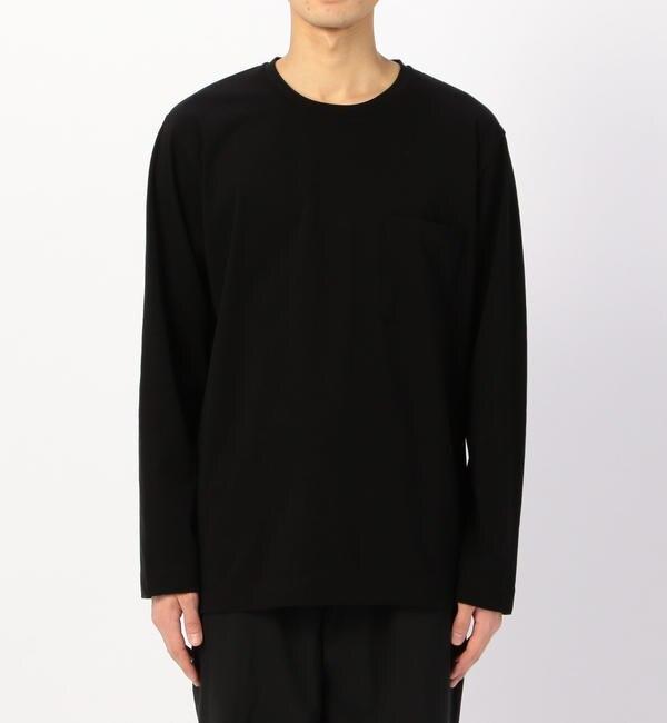 【ビショップ/Bshop】 【ATON】〈別注〉ロングスリーブポケットTシャツ MEN