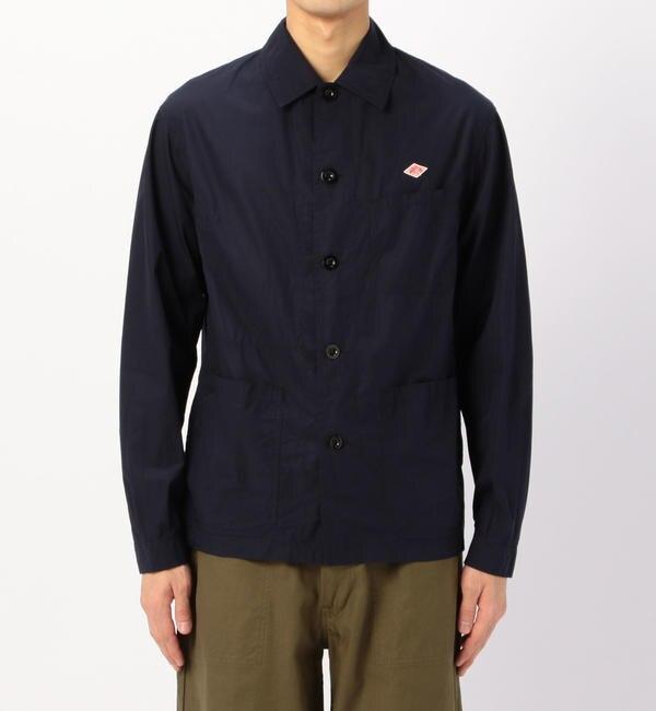 【DANTON】 (メンズ) TRD MEN/ ■ ビショップ (Bshop) 長袖バンドカラーシャツ