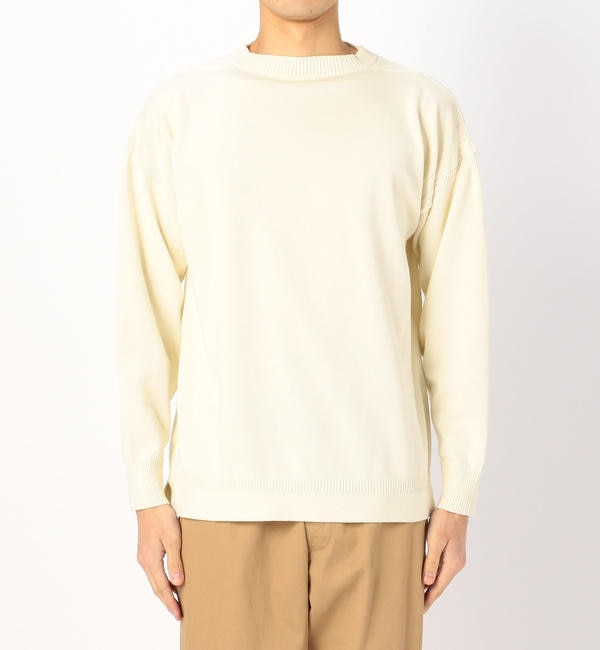 <アイルミネ>【Le Tricoteur】コットンガンジーセーター SO MEN画像