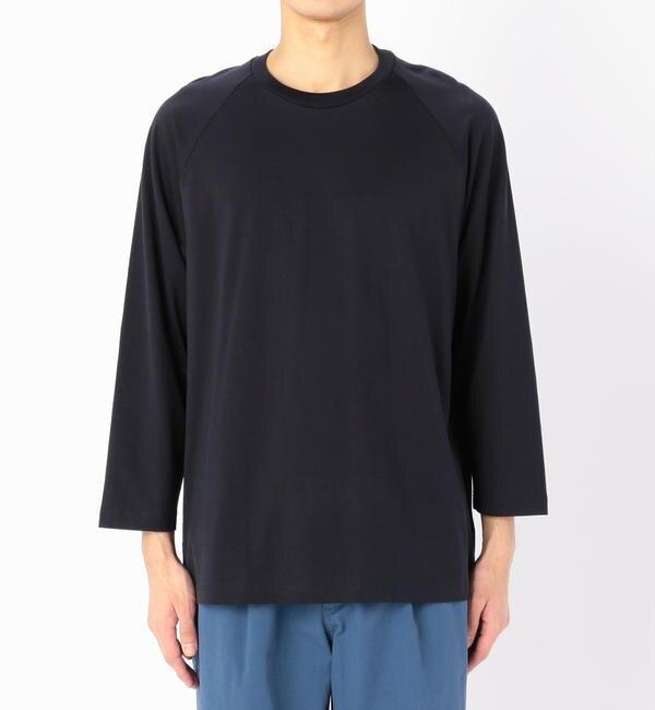 【ビショップ/Bshop】 【handvaerk】七分袖 ラグランTシャツ MEN