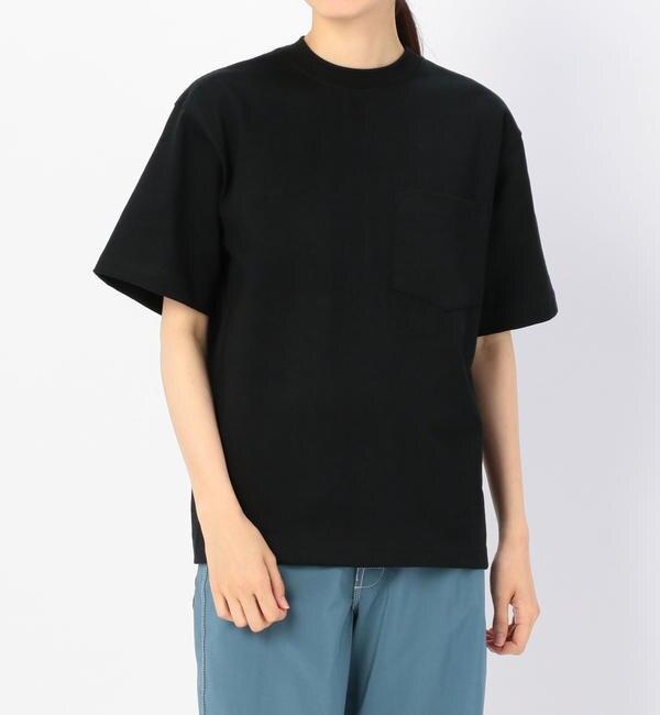 【ビショップ/Bshop】 【CAMBER】ヘビーウェイト ポケットTシャツ WOMEN