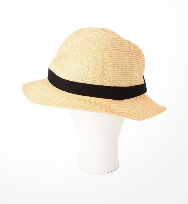 【ビショップ/Bshop】 【mature ha.】 BOXED HAT 4.5cm brim / MEN