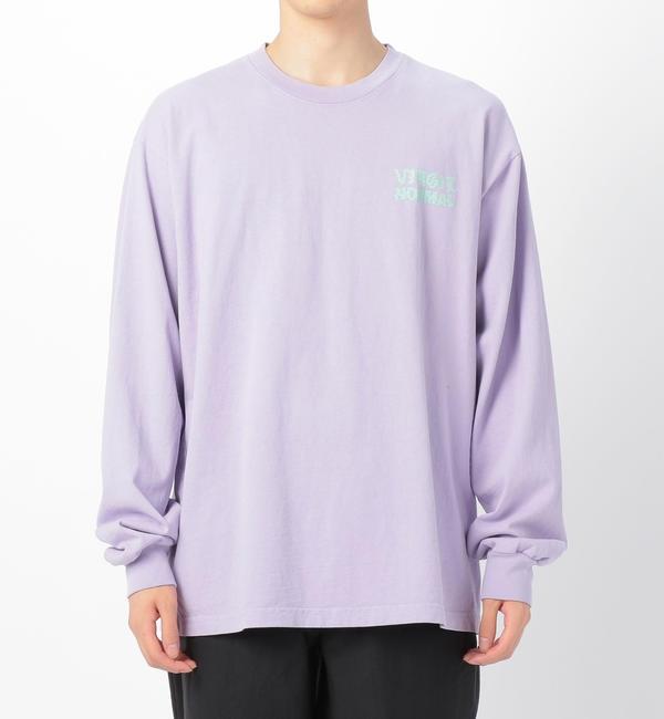 【ビショップ/Bshop】 【VIRGIL NORMAL】プリントTシャツ SHOP MEN
