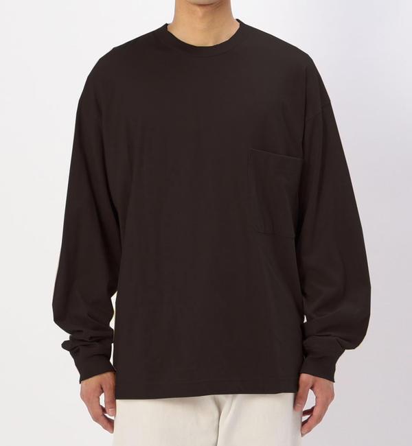 【ビショップ/Bshop】 【unfil】コットンフランネル 長袖Tシャツ MEN