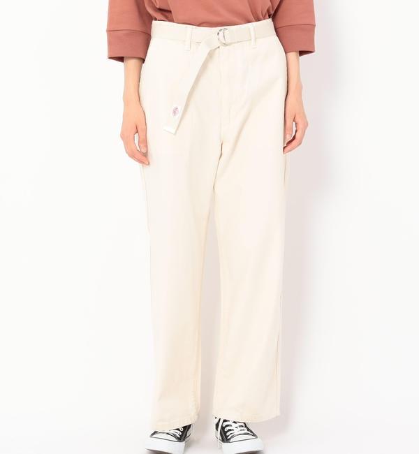 【ビショップ/Bshop】 【DANTON】ベルト付きファティーグパンツ WOMEN