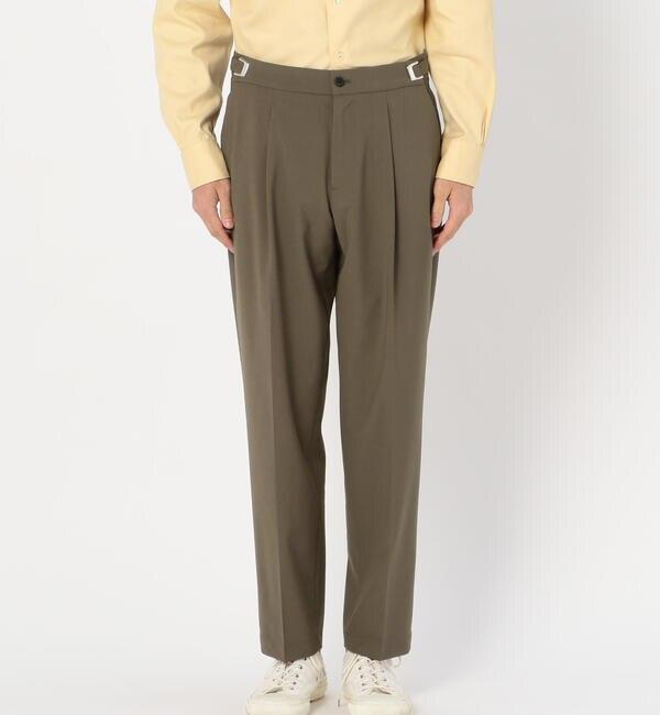 モテ系ファッションメンズ|【ビショップ/Bshop】 【Cellar Door】サイドベルトパンツ LEO T MEN