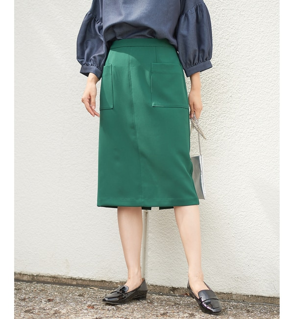 【コラージュ ガリャルダガランテ/COLLAGE GALLARDAGALANTE】 ダブルポケットタイトスカート [送料無料]