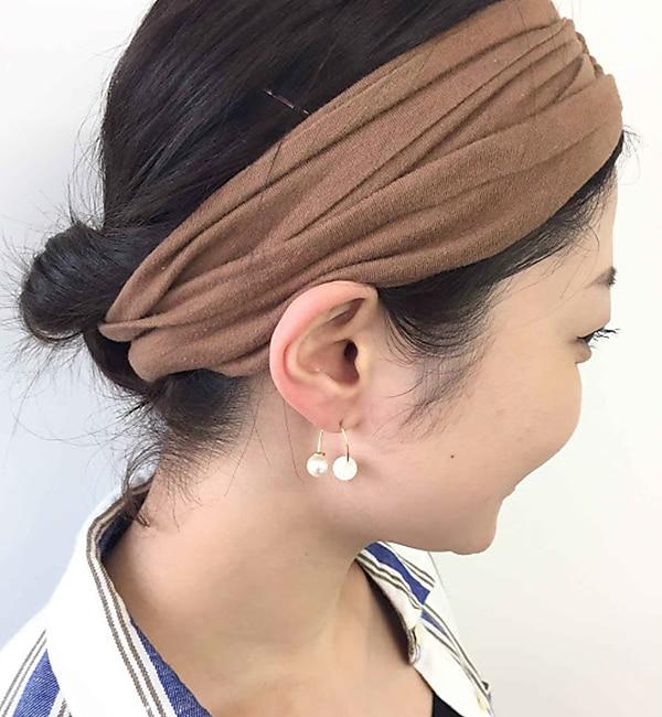 【イアパピヨネ/ear PAPILLONNER】 しっぽパールピアス 【追加生産商品】 [送料無料]