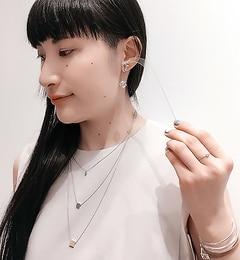 【イアパピヨネ/ear PAPILLONNER】 キューブスワロイヤリング 【追加生産商品】 [送料無料]