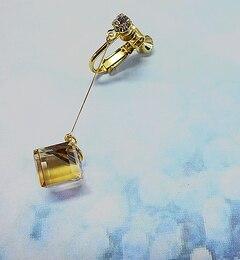 【イアパピヨネ/ear PAPILLONNER】 キューブスワロイヤリング 【追加生産】 [送料無料]