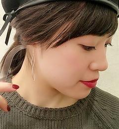 【イアパピヨネ/ear PAPILLONNER】 925ウェーブラインピアス [送料無料]