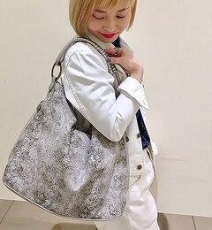 【イアパピヨネ/earPAPILLONNER】ジャングルエダワンハンドルバッグ[送料無料]