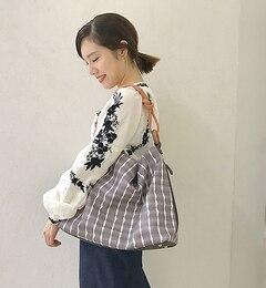 【イアパピヨネ/ear PAPILLONNER】 タイダイワンハンドルバッグ [送料無料]