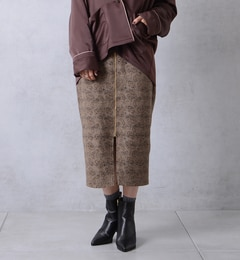 【ドゥドゥ/DouDou】 ゴブランジャガードスカート [送料無料]
