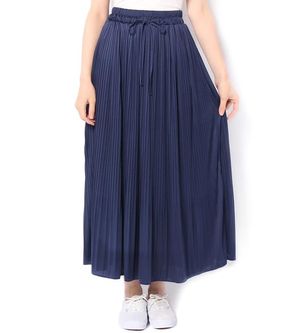 【カスタネ/Kastane】 プリーツマキシSK [送料無料]