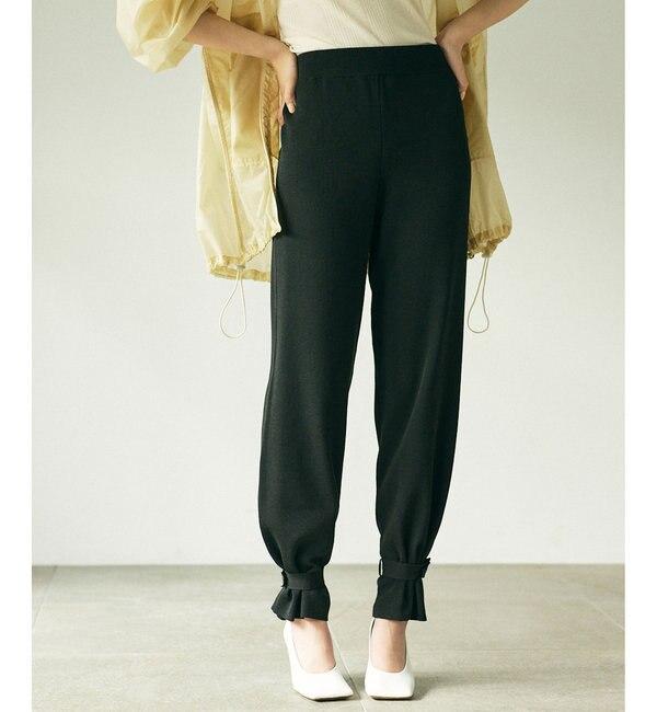 2WAYヘムストリングニットパンツ【オンラインストア限定商品】