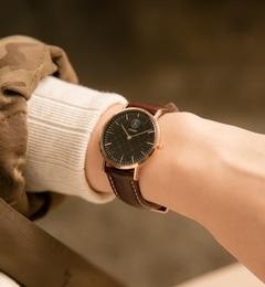 russet WATCH LIMITED EDITION【ラシット/russet レディス 腕時計 ブラック ルミネ LUMINE】