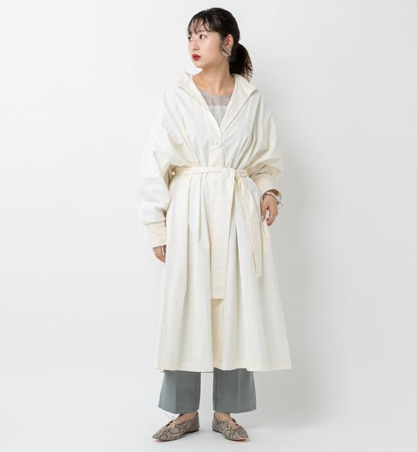【ミスティック/mystic】 スタンドカラーロングガウン