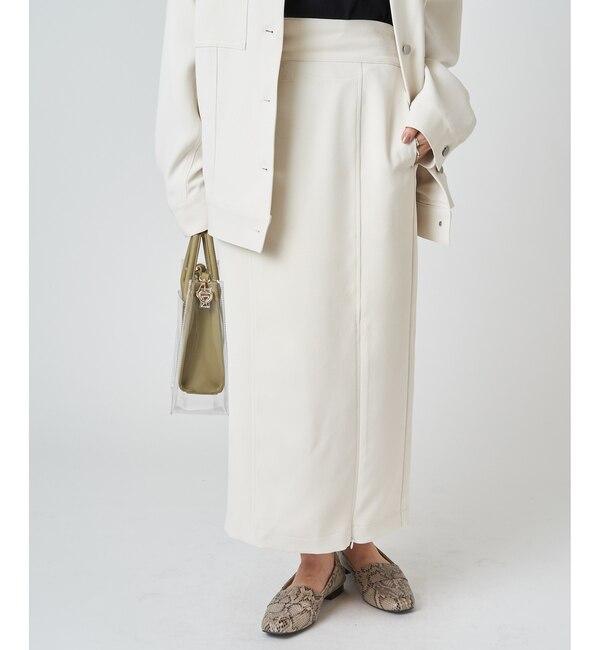 【ミスティック/mystic】 ZIP使いタイトスカート