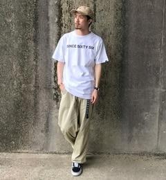 【チャオパニック/Ciaopanic】 【VANS/バンズ】SIXTYSIXプリントTシャツ [送料無料]