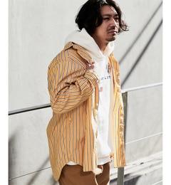 【チャオパニック/CIAOPANIC】 ストライプギャザーシャツ [送料無料]